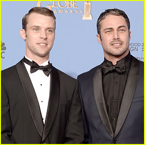 Taylor Kinney & Jesse Spencer - Golden Globes 2014