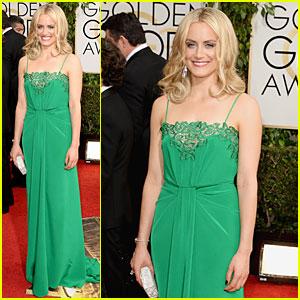 Taylor Schilling - Golden Globes 2014 Red Carpet