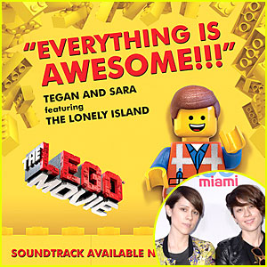 Tegan & Sara: 'Everything Is Awesome' Exclusive Premiere - Listen Now!