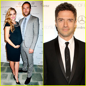 Teresa Palmer & Topher Grace - Art of Elysium Heaven Gala