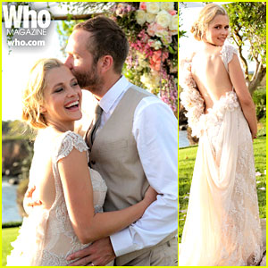 Teresa Palmer Wedding Photos - See Her Beautiful Dress!