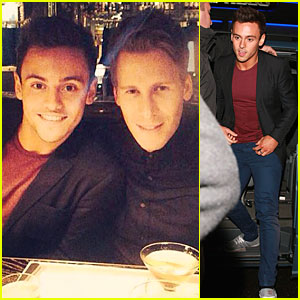Tom Daley Celebrates 'Splash' Return with Boyfriend Dustin Lance Black!