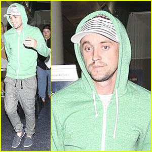 Tom Felton Loves Ariana Grande's 'Almost is Never Enough'!