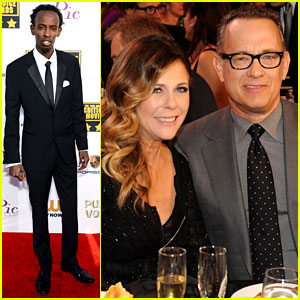 Tom Hanks & Barkhad Abdi - Critics' Choice Movie Awards 2014