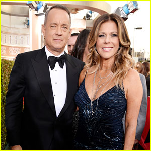 Tom Hanks & Rita Wilson - Golden Globes 2014 Red Carpet