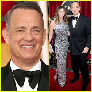Tom Hanks: SAG Awards 2014 Red Carpet with Rita Wilson