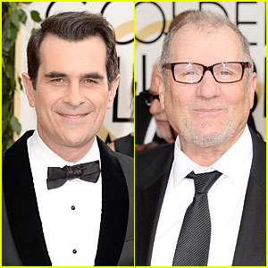 Ty Burrell & Ed O'Neill - Golden Globes 2014 Red Carpet