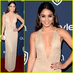 Vanessa Hudgens - InStyle Golden Globes Party 2014