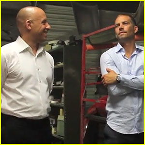 Vin Diesel Honors Bromance with Paul Walker in New Video!