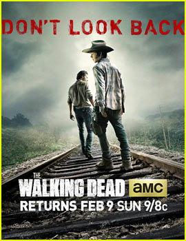 'Walking Dead' Season Four New Poster: 'Don't Look Back'
