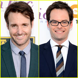 Will Forte & Bill Hader - Critics' Choice Awards 2014 Red Carpet