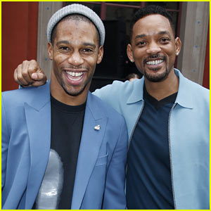 Will Smith & Victor Cruz: Lanvin Paris Fashion Show!