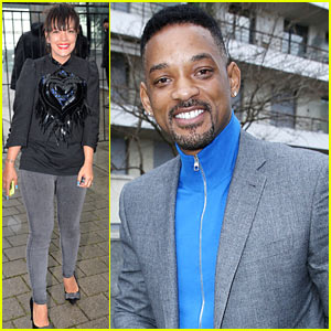 Will Smith & Lily Allen: Louis Vuitton Paris Fashion Week Show!