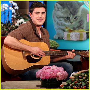 Zac Efron Sings & Plays Guitar for Ellen DeGeneres on Her Birthday - Watch Now!