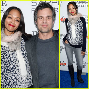 Zoe Saldana & Mark Ruffalo: 'Infinitely Polar Bear' Sundance After-Party