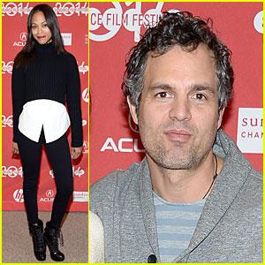 Zoe Saldana & Mark Ruffalo: 'Infinity Polar Bear' Sundance Premiere!