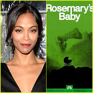 Zoe Saldana Starring in NBC's 'Rosemary's Baby' Miniseries!