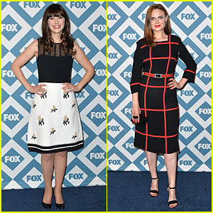 Zooey & Emily Deschanel: Fox All-Star Party 2014 Sisters!