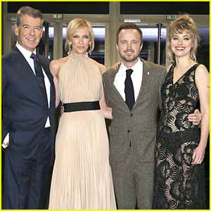 Aaron Paul & Imogen Poots: 'Long Way Down' Berlin Premiere!