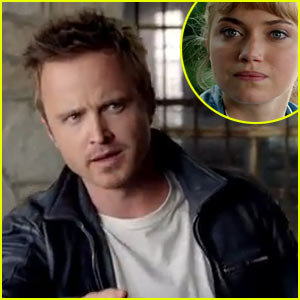 Aaron Paul & Imogen Poots Have a 'Need for Speed' in Exclusive Clip!