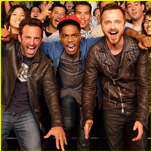 Aaron Paul & Kid Cudi: 'Need for Speed' Advance Screening!