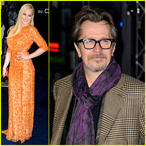 Abbie Cornish & Gary Oldman: 'RoboCop' UK Premiere!