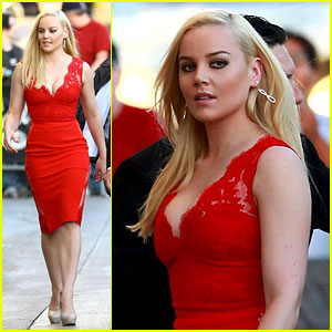 Abbie Cornish is Recording a Rap Album... Seriously!