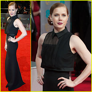 Amy Adams - BAFTAs 2014 Red Carpet