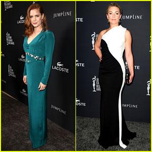 Amy Adams & Elisabeth Rohm - Costume Designers Guild Awards 2014