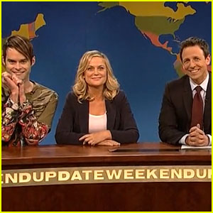 Amy Poehler Joins Seth Meyers for 'SNL' Farewell! (VIDEO)
