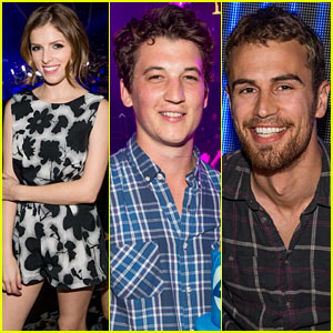 Anna Kendrick & Miles Teller Spend the Evening at Hakkasan!