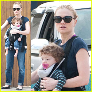 Anna Paquin: Casual Saturday Stroll with the Twins!