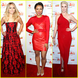 AnnaSophia Robb & Kat Graham: Red Dress Fashion Show!