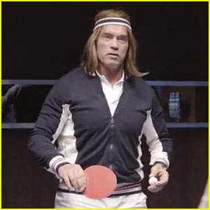 Arnold schwarzenegger plays ping pong for bud light super bowl arnold schwarzenegger plays ping pong for bud light super bowl commercial 2014 video aloadofball Gallery