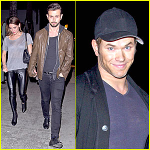 Ashley Greene: 27th Birthday Celebration with Beau Paul Khoury & Kellan Lutz!