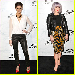 Ashley Greene & Kelly Osbourne: Oakley's Disruptive by Design Campaign Launch