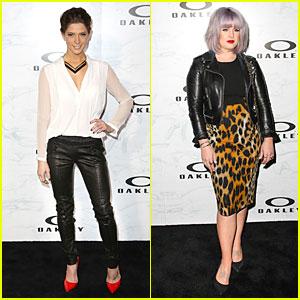 Ashley Greene & Kelly Osbourne: Oakley's Disruptive by Design Campaign Launch