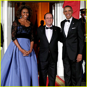 President Barack & Michelle Obama: White House State Dinner!