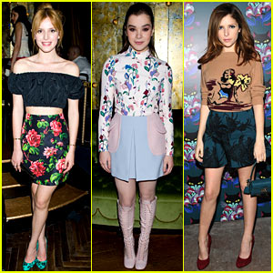 Bella Thorne & Hailee Steinfeld Join in on the Fun at Miu Miu's 'Spark & Light' Screening!