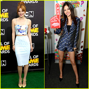 Bella Thorne & Victoria Justice: Hall of Game Awards 2014!