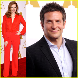 Bradley Cooper & Amy Adams 'Hustle' Their Way to Oscars Nominees Luncheon!