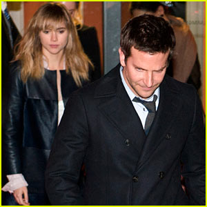 Bradley Cooper & Suki Waterhouse Exit Through the Backdoor at Berlinale