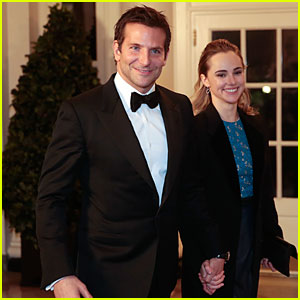 Bradley Cooper & Suki Waterhouse Hold Hands at White House State Dinner!