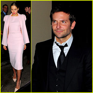 Bradley Cooper & Suki Waterhouse: Pre-BAFTAs Party Pair!