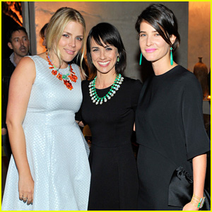 Busy Philipps & Cobie Smulders: Irene Neuwirth Cocktail Party!