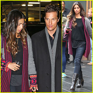 Camila Alves: Matthew McConaughey Isn't As Romantic As His On-Screen Characters!