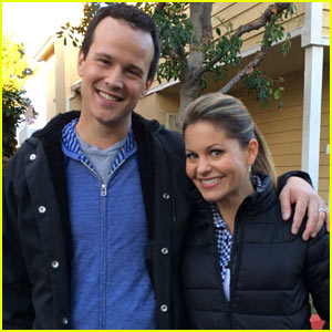 Candace Cameron & Scott Weinger Bring 'Full House' Reunion to 'The Neighbors' (Exclusive Pics!)