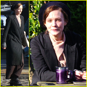 Carey Mulligan Begins Filming 'Suffragette' in London!