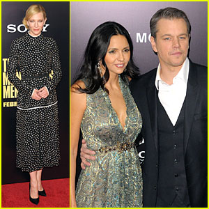 Cate Blanchett & Matt Damon: 'Monuments Men' NYC Premiere!