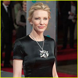 Cate Blanchett WINS Best Actress at BAFTAs 2014